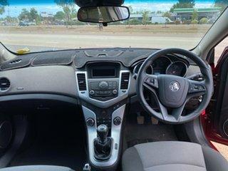2010 Holden Cruze JG CD Maroon 5 Speed Manual Sedan