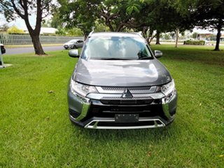 2018 Mitsubishi Outlander ZL MY18.5 LS 7 Seat (AWD) Silver Continuous Variable Wagon.