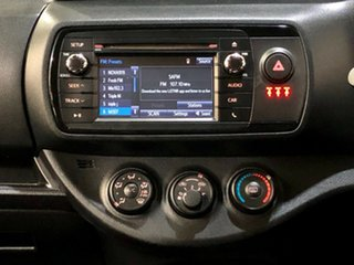 2018 Toyota Yaris NCP130R Ascent Blue 4 Speed Automatic Hatchback