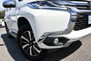 2016 Mitsubishi Pajero Sport QE MY17 GLX White 8 Speed Sports Automatic Wagon.