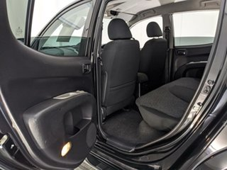 2014 Mitsubishi Triton MN MY15 GLX-R Double Cab Black 5 Speed Manual Utility