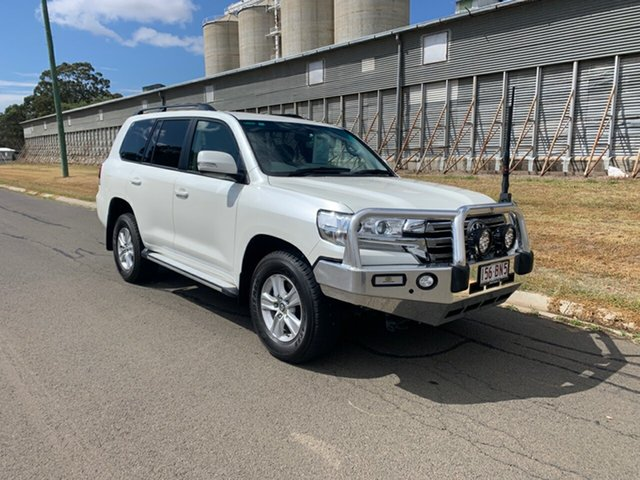 Pre-Owned Toyota Landcruiser VDJ200R MY16 GXL (4x4) Oakey, 2017 Toyota Landcruiser VDJ200R MY16 GXL (4x4) Crystal Pearl 6 Speed Automatic Wagon