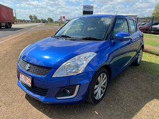 2015 Suzuki Swift FZ MY15 GL Navigator Blue 4 Speed Automatic Hatchback.