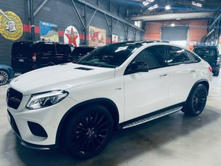 2016 Mercedes-Benz GLE-Class C292 807MY GLE43 AMG Coupe 9G-Tronic 4MATIC White 9 Speed