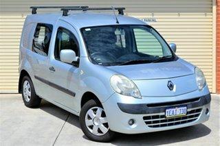 2012 Renault Kangoo F61 MY11 Silver 5 Speed Manual Van.