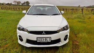 2016 Mitsubishi Lancer CF MY16 ES Sport White 6 Speed Constant Variable Sedan.
