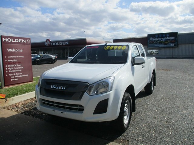 Used Isuzu D-MAX MY17 SX 4x2 High Ride North Rockhampton, 2018 Isuzu D-MAX MY17 SX 4x2 High Ride White 6 Speed Sports Automatic Cab Chassis