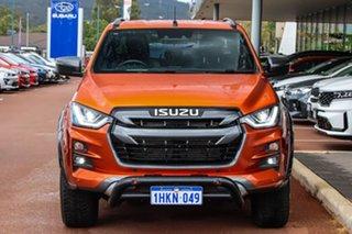 2021 Isuzu D-MAX RG MY21 X-TERRAIN Crew Cab Orange 6 Speed Sports Automatic Utility.