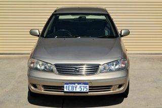 2003 Nissan Pulsar N16 MY2003 ST Bronze 4 Speed Automatic Sedan.
