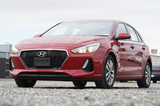 2018 Hyundai i30 PD MY18 Active Red 6 Speed Sports Automatic Hatchback