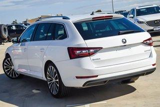 2017 Skoda Superb NP MY17 162TSI DSG White 6 Speed Sports Automatic Dual Clutch Wagon.
