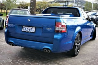2010 Holden Special Vehicles Maloo E Series 2 GXP Blue 6 Speed Manual Utility