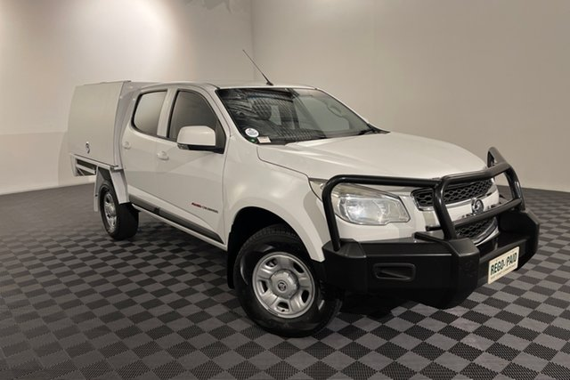 Used Holden Colorado RG MY16 LS Crew Cab Acacia Ridge, 2016 Holden Colorado RG MY16 LS Crew Cab White 6 speed Automatic Cab Chassis