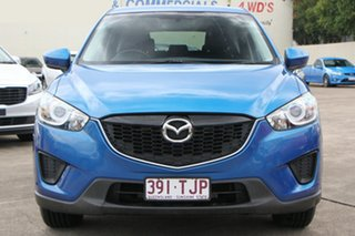 2013 Mazda CX-5 KE1031 MY13 Maxx SKYACTIV-Drive AWD Blue 6 Speed Sports Automatic Wagon.