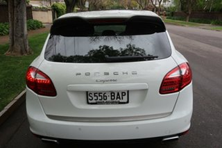 2014 Porsche Cayenne 92A MY14 Diesel Tiptronic Platinum Edition White 8 Speed Sports Automatic Wagon