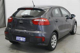2015 Kia Rio UB MY15 S Grey 4 Speed Sports Automatic Hatchback