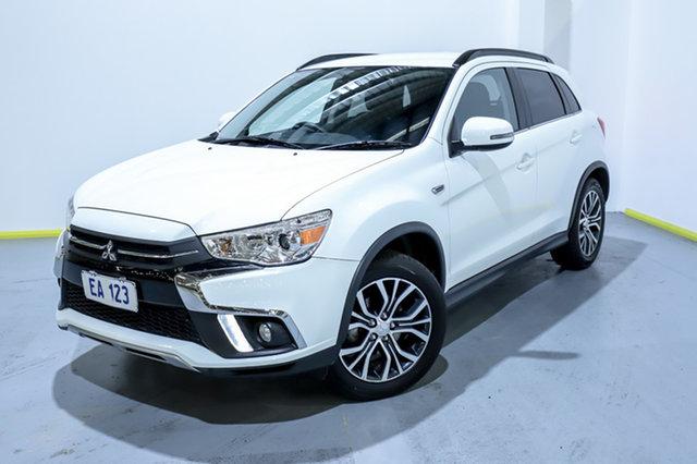 Used Mitsubishi ASX XC MY18 LS 2WD Canning Vale, 2018 Mitsubishi ASX XC MY18 LS 2WD White 1 Speed Constant Variable Wagon