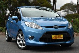 2010 Ford Fiesta WS Zetec Blue 5 Speed Manual Hatchback.