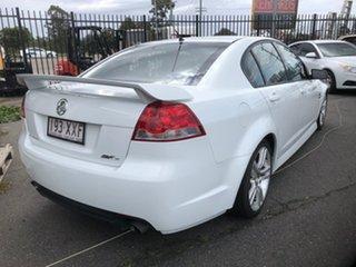 2008 Holden Commodore VE MY08 SV6 White 5 Speed Automatic Sedan.