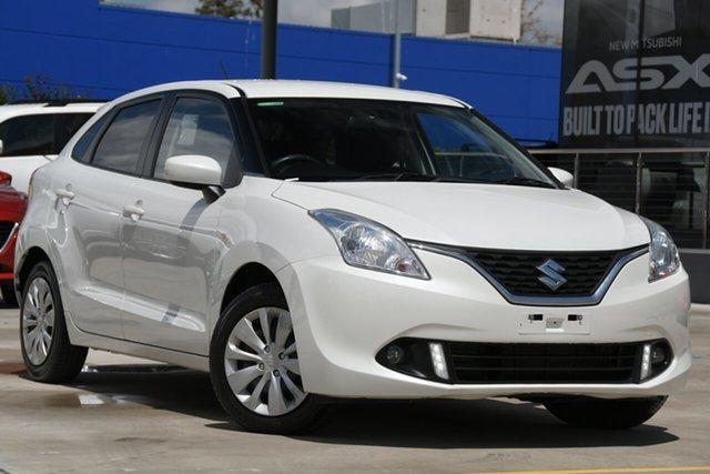 Used Suzuki Baleno EW GL Aspley, 2018 Suzuki Baleno EW GL White 4 Speed Automatic Hatchback