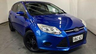 2013 Ford Focus LW MkII Ambiente Blue 5 Speed Manual Hatchback.
