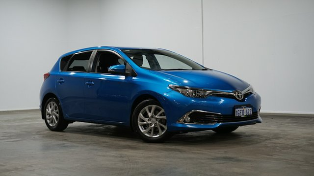Used Toyota Corolla ZRE182R Ascent Sport S-CVT Welshpool, 2017 Toyota Corolla ZRE182R Ascent Sport S-CVT Blue 7 Speed Constant Variable Hatchback