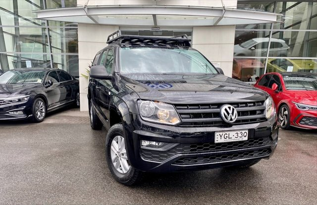 Used Volkswagen Amarok 2H MY16 TDI420 4MOTION Perm Core Sutherland, 2015 Volkswagen Amarok 2H MY16 TDI420 4MOTION Perm Core Black 8 Speed Automatic Utility