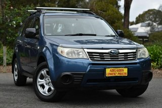 2009 Subaru Forester S3 MY10 X AWD Blue 4 Speed Sports Automatic Wagon.