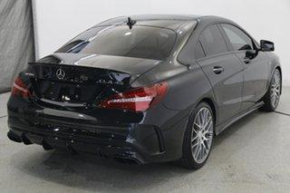 2016 Mercedes-Benz CLA-Class C117 806MY CLA45 AMG SPEEDSHIFT DCT 4MATIC Black 7 Speed