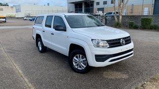 2019 Volkswagen Amarok 2H MY19 TDI420 Core Edition (4x4) White 8 Speed Automatic Dual Cab Chassis.