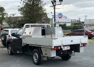 2012 Mazda BT-50 UP0YD1 XT Black 6 Speed Manual Cab Chassis