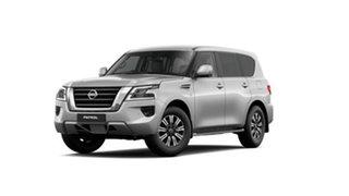 2021 Nissan Patrol Y62 MY21 TI Brilliant Silver 7 Speed Sports Automatic Wagon.