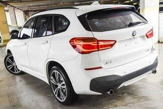 2019 BMW X1 F48 LCI xDrive25i Steptronic AWD White 8 Speed Sports Automatic Wagon.