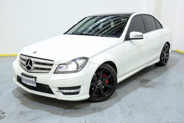 Used Mercedes-Benz C-Class W204 MY13 C250 CDI 7G-Tronic + Avantgarde Canning Vale, 2013 Mercedes-Benz C-Class W204 MY13 C250 CDI 7G-Tronic + Avantgarde White 7 Speed Sports Automatic