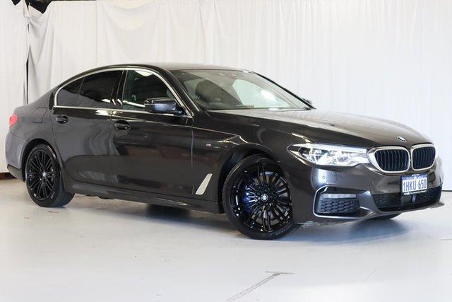 Used BMW 5 Series G30 530d Steptronic M Sport Wangara, 2019 BMW 5 Series G30 530d Steptronic M Sport Grey 8 Speed Sports Automatic Sedan