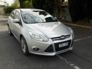 2012 Ford Focus LW Trend Silver 6 Speed Automatic Hatchback.