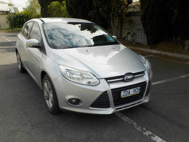 Used Ford Focus LW Trend Newtown, 2012 Ford Focus LW Trend Silver 6 Speed Automatic Hatchback