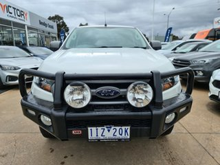 2016 Ford Ranger PX MkII XLS Double Cab White 6 Speed Manual Utility.