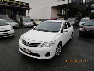 2013 Toyota Corolla ZRE152R MY11 Ascent White 4 Speed Automatic Sedan.