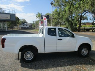 2018 Isuzu D-MAX MY17 SX 4x2 High Ride White 6 Speed Sports Automatic Cab Chassis.