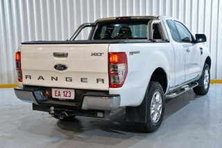 2014 Ford Ranger PX XLT Super Cab 4x2 Hi-Rider White 6 Speed Sports Automatic Utility
