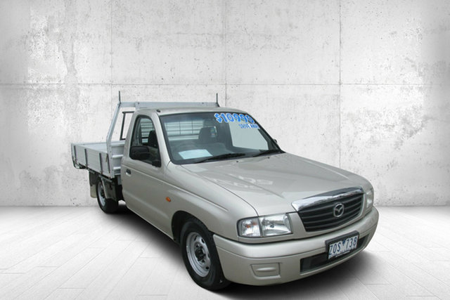 Used Mazda Bravo B2600 DX 4x2 Bendigo, 2003 Mazda Bravo B2600 DX 4x2 Champagne 5 Speed Manual Cab Chassis