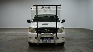 2007 Toyota Hilux KUN16R MY07 SR 4x2 White 5 Speed Manual Cab Chassis