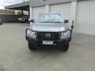 2019 Mazda BT-50 UR0YG1 XT Freestyle Silver 6 Speed Sports Automatic Cab Chassis.