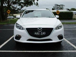 2013 Mazda 3 BM Neo White Pearl 6 Speed Automatic Sedan.