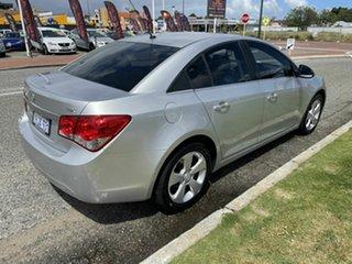 2011 Holden Cruze JH CDX Silver 6 Speed Automatic Sedan.