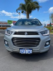 2017 Holden Captiva CG MY17 LTZ AWD Silver 6 Speed Sports Automatic Wagon.