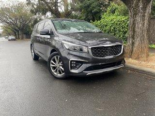 2018 Kia Carnival YP MY19 Platinum Grey 8 Speed Sports Automatic Wagon.