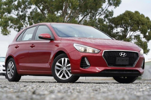Used Hyundai i30 PD MY18 Active Clare, 2018 Hyundai i30 PD MY18 Active Red 6 Speed Sports Automatic Hatchback