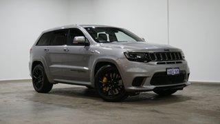 2018 Jeep Grand Cherokee WK MY18 Trackhawk Silver 8 Speed Sports Automatic Wagon.